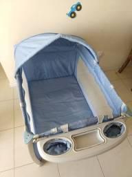 Berço portátil -Nanna burigotto azul