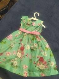 Vestido infantil da maluzinha