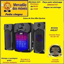 Caixa de Som HSX-12000 Mini System em até 10x nos cartões(Entrega grátis)