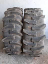 2 pneus 16.9x28 seminovos