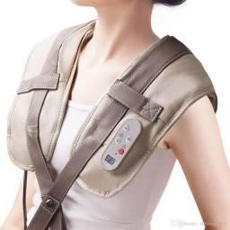 Colete Shiatsu Pescoço Massageador Cervical Ombros Lombar