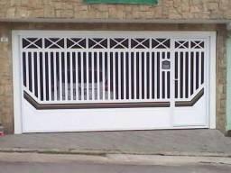 Portões ja pintados