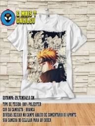 Camiseta Camisa Naruto Shippuden Pain Akatsuki Mangá