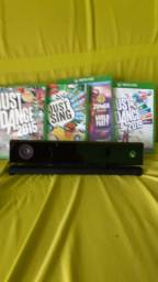 Vendo ese Kinect do Xbox novo com 4 jogos