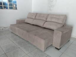 Sofá Retrátil e reclinável 3 mts