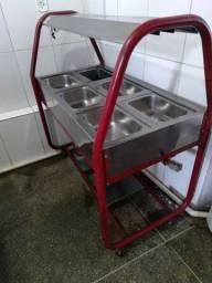 Mesa banho Maria industrial
