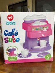 Maquina de Cafe e suco