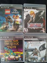 Jogos de PS3 originais semi novos