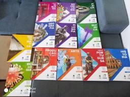 Coleção Completa De Livros Do Poliedro 1 Série Ensino Médio 42 Livros