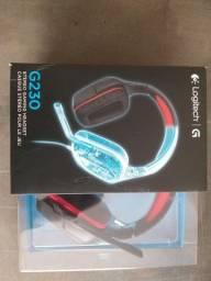 Headset Gamer G230 Logitech NOVO E NA CAIXA
