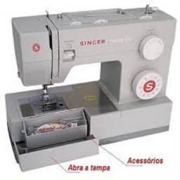 Máquina de costura Singer Facilita Pro 4423 cinza 220V Produto novo