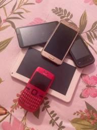 Celulares e tabletes