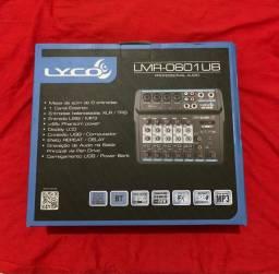 Mesa De Som Interface De Audio 6c Lyco Lmr-0601ub Usb