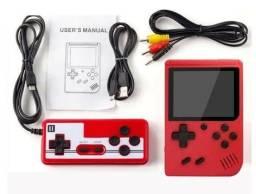 Título do anúncio: Mini game portátil 400 jogos retrô colorido c/ controle