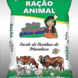 Ração de Farelo de Resíduos de mandioca para boi, vaca, porco e etc. - 25kg por R$28,00