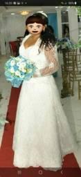 Vendo vestido noiva 3 em 1