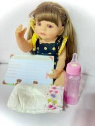 Título do anúncio: Boneca Bebê Reborn Original com Garantia