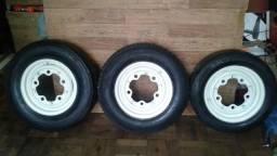 Rodas Relíquia kombi corujinha e derivados 5 furos com pneus !!!