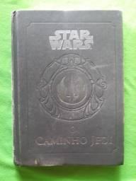 Título do anúncio: star wars :O Caminho Jedi. em bom estado