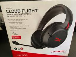 Headset Gamer HyperX Cloud Flight Sem Fio Wireless PC Xbox Ps4 Ps5