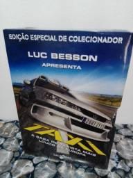 Coleção Táxi de Luc Besson lacrado