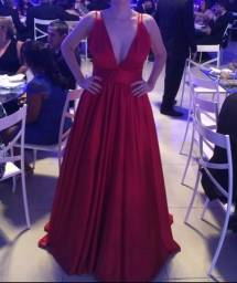 Vestido de festa feito por Rebeca Nepomuceno