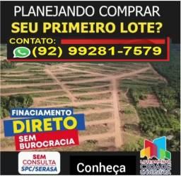 Terreno 10x20 => Ideal para morar ou investir, com entrada facilitada! <= Iranduba