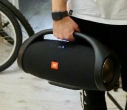 Caixa de Som Boombox Bluetooth Portátil