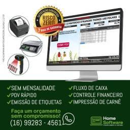 Sistema PDV, Controle Financeiro, Frente de Caixa, Fluxo Caixa - Joinville