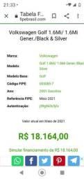 Golf 2001 GNV 1.6 8v