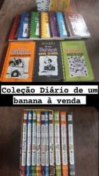 Coleção do livro Diário de um banana