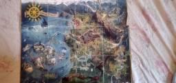 Vendo estes mapas colecionáveis