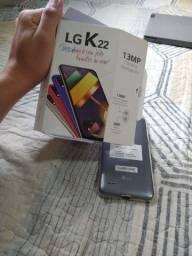 LG K22- NA CAIXA
