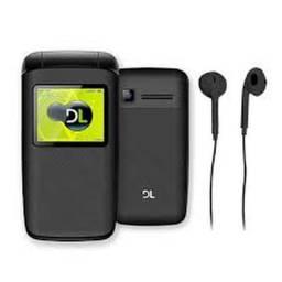 Celular Para Idosos Abre Fecha Dl Y330 2 Chips Câmera Radio