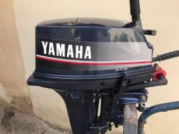 Título do anúncio: MOTOR DE POPA YAMAHA 15 HP RARIDADE JAPONÊS