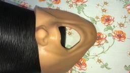 Bochecha para prática odontológica e manequim para perio e dentistica