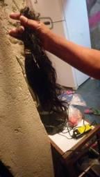 Vendo cabelo humano são dois tipos de cabelos