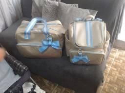 Título do anúncio: Kit maternidade mala grande e mochila 2 em 1