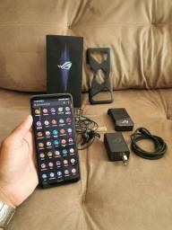 vendo Asus Rog Phone 3 de 128gb e 12gb de RAM  <br>Snapdragon 865 plus Zap *
