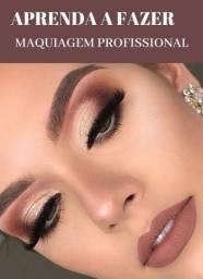 Curso de maquiagem, delineado