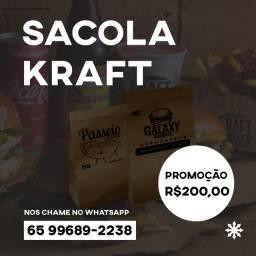 Sacola Kraft Persoalizada