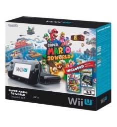 Nintendo Wiiu 32 edição especial Mário , desbloqueado com HD externo de 1 terá
