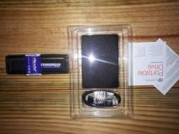 HD externo seagate 1tb Memória RAM 8gb 1600mhz Leia