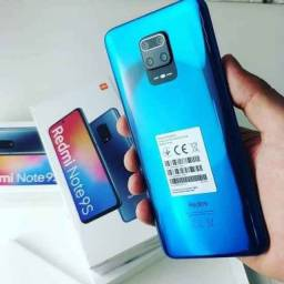 Redmi Note 9S com 64gb lacrados