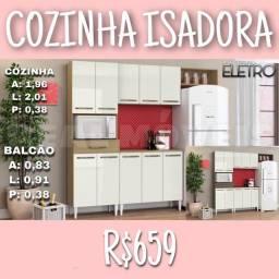 Armário armário Armário armário de cozinha Isadora / Armário de cozinha Isadora
