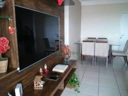 Apartamento com 3 dormitórios para alugar, 90 m² por R$ 2.400,00/mês - Parque Residencial