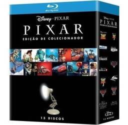 Kit Blu Ray - Disney Pixar Edição De Colecionador (13 Discos)