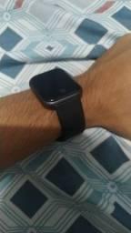 Relógio smart Y68 com monitoramento cardíaco