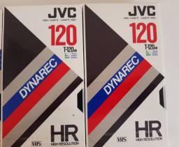Fitas Cassetes VHS lacradas