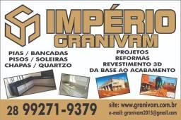 Piscina de vidro IMPÉRIO GRANIVAM